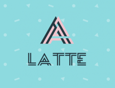 Latte coffee & desserts